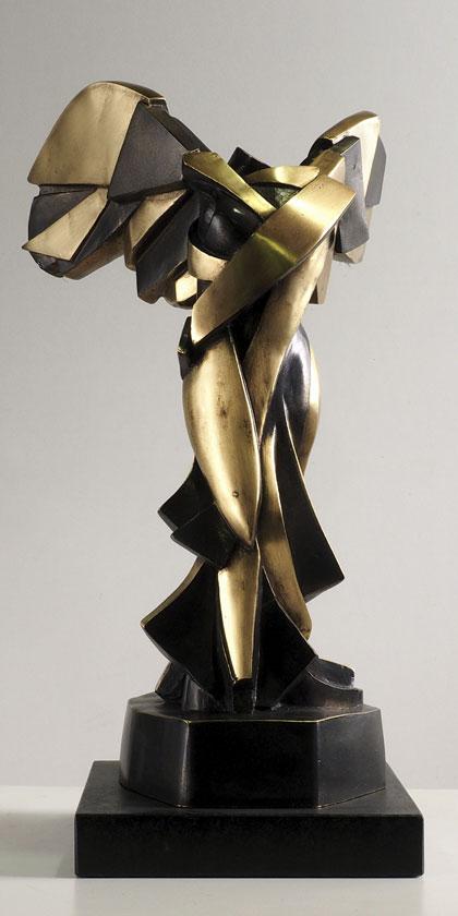 Armonía Samotracia en bronce