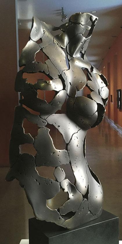 Esencia Femenina en bronce