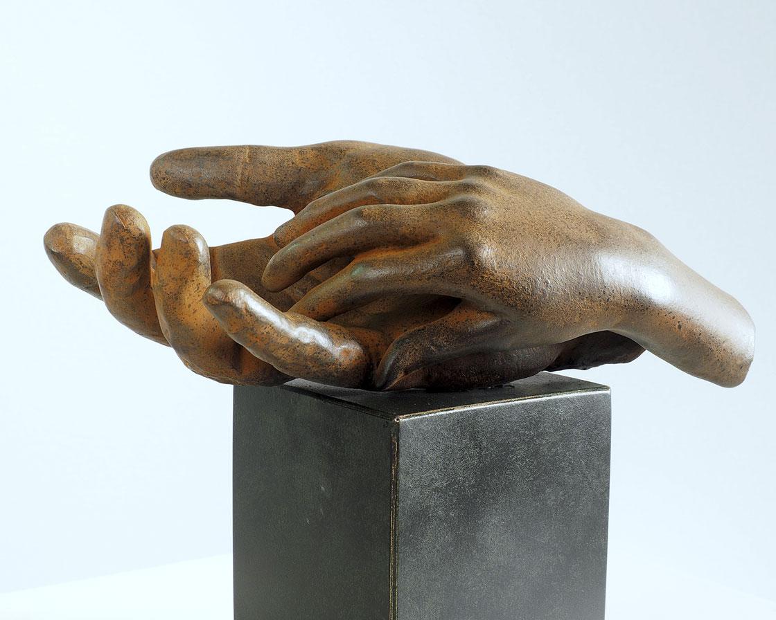 Paternidad en bronce 2