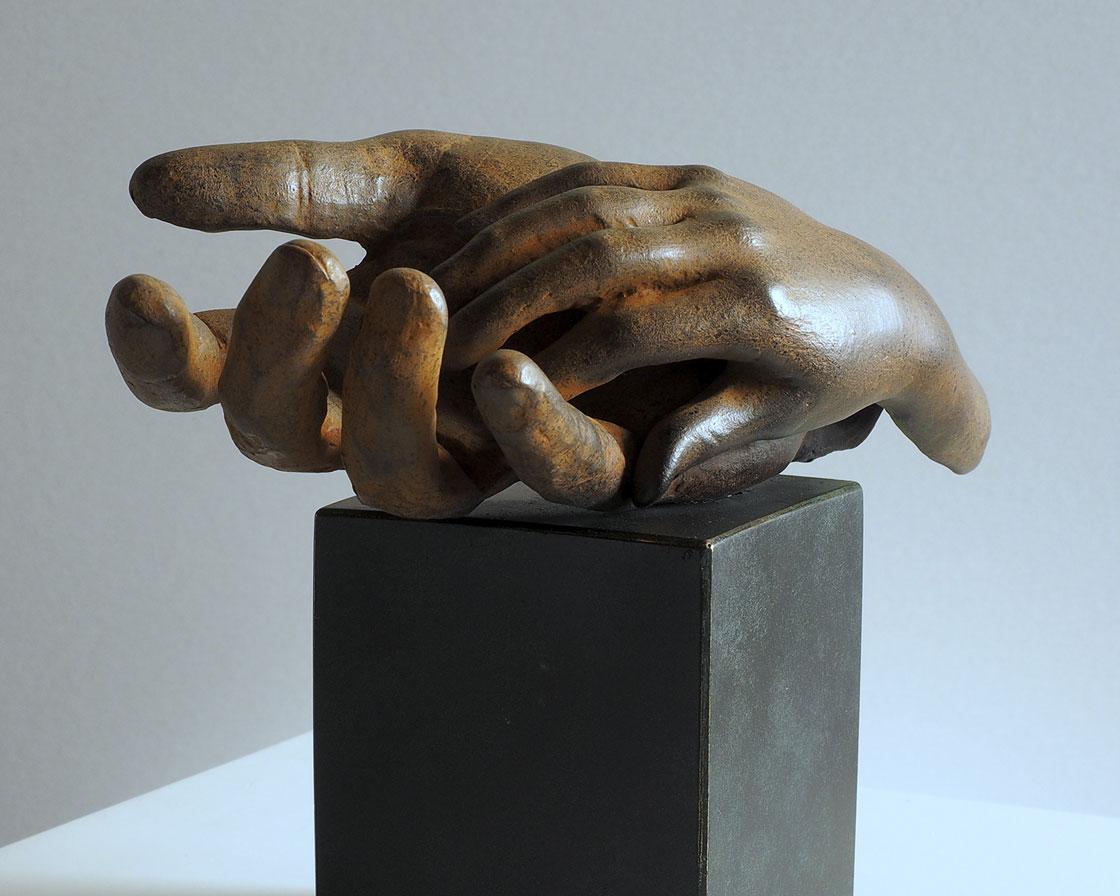 Paternidad en bronce 3