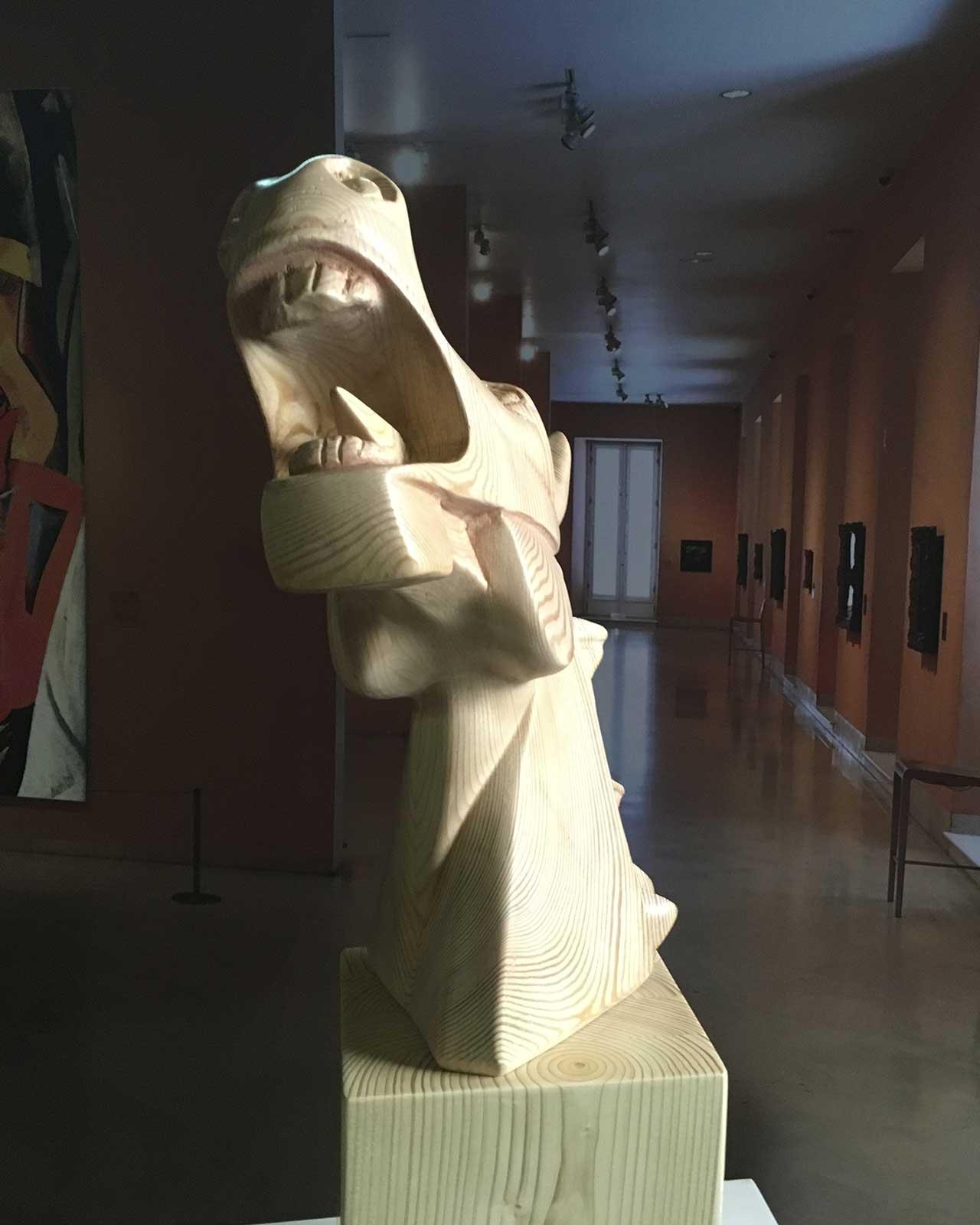 Caballo Cubista Guernica en madera 3