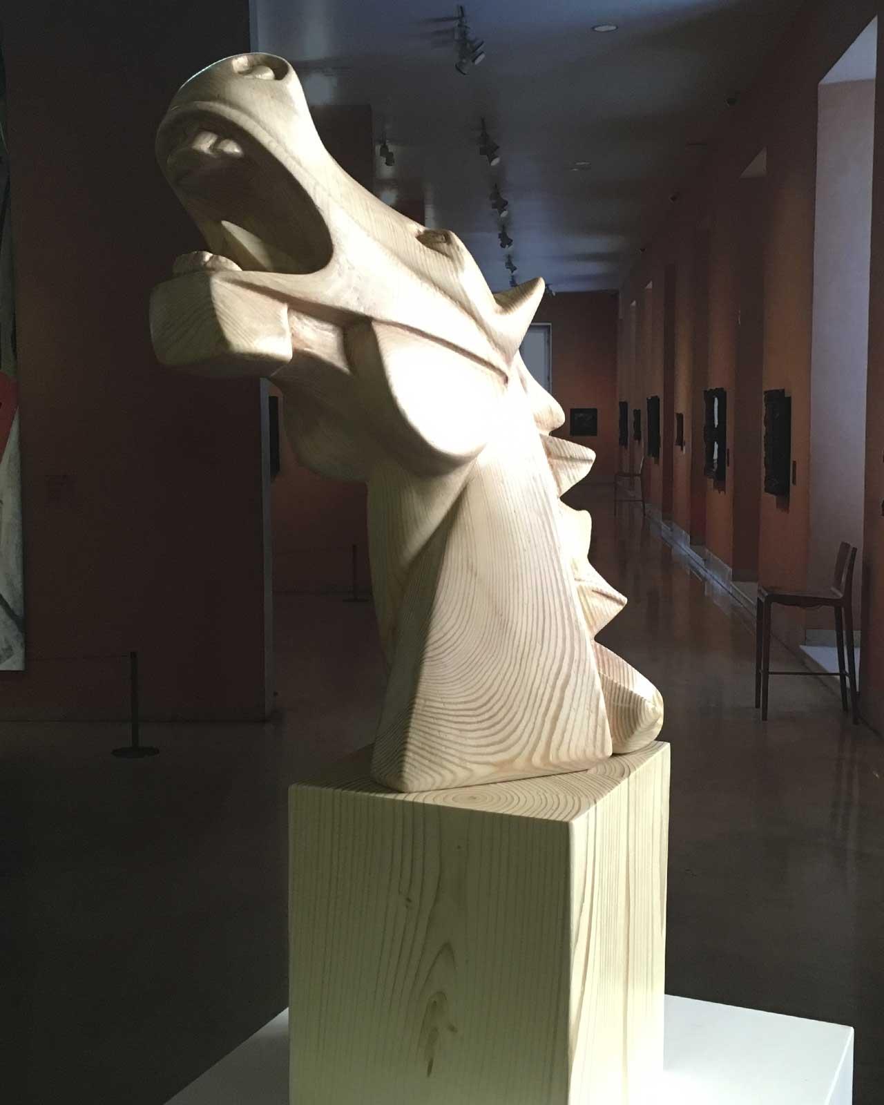 Caballo Cubista Guernica en madera 5