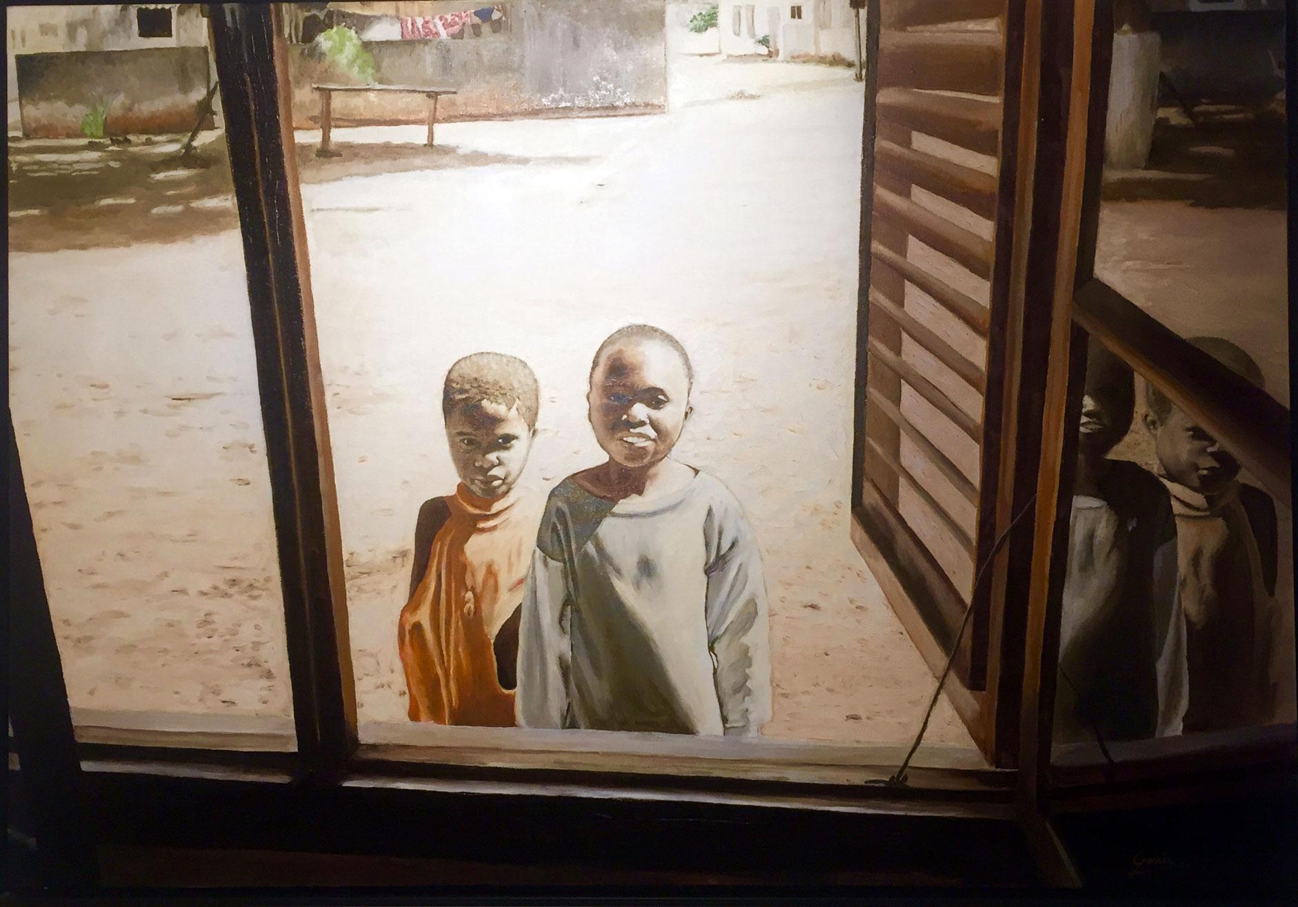 Asomados a África