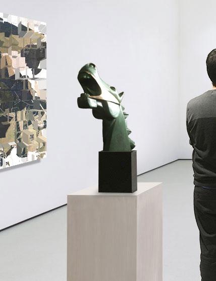 Caballo brf verde galeria
