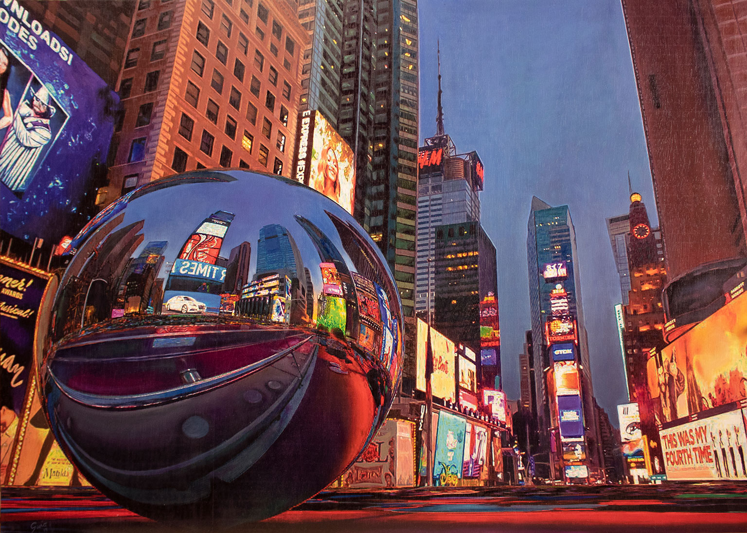 City's-soul-reflection-NY-NIGHT-1-140x100cm-1