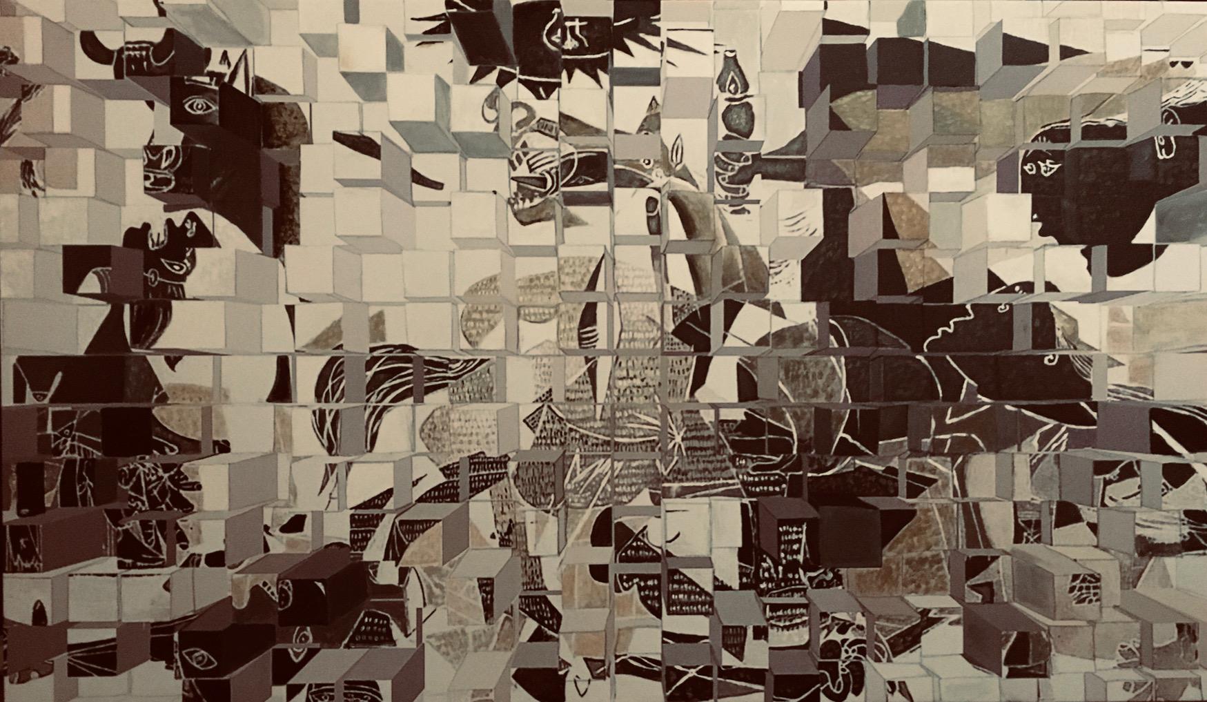 Cubing Cubism