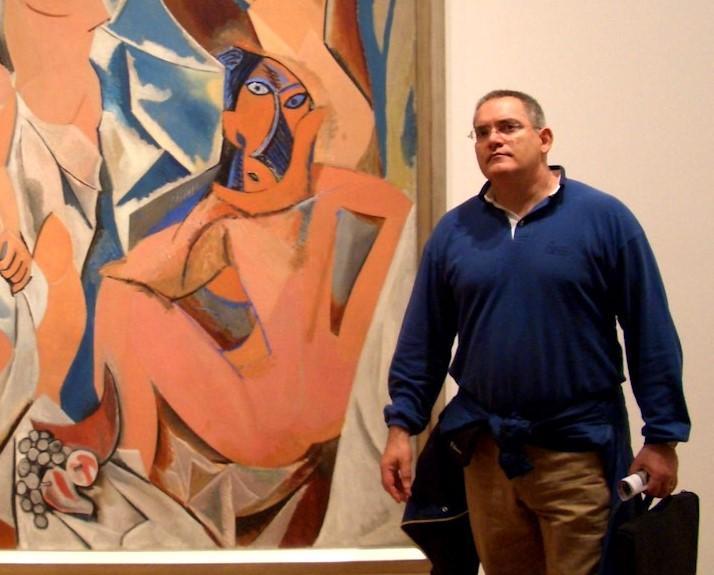 Un enamorado del arte
