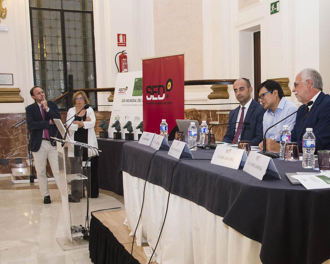 Premio anual del Día Mundial Contra el Dolor organizado por la SED