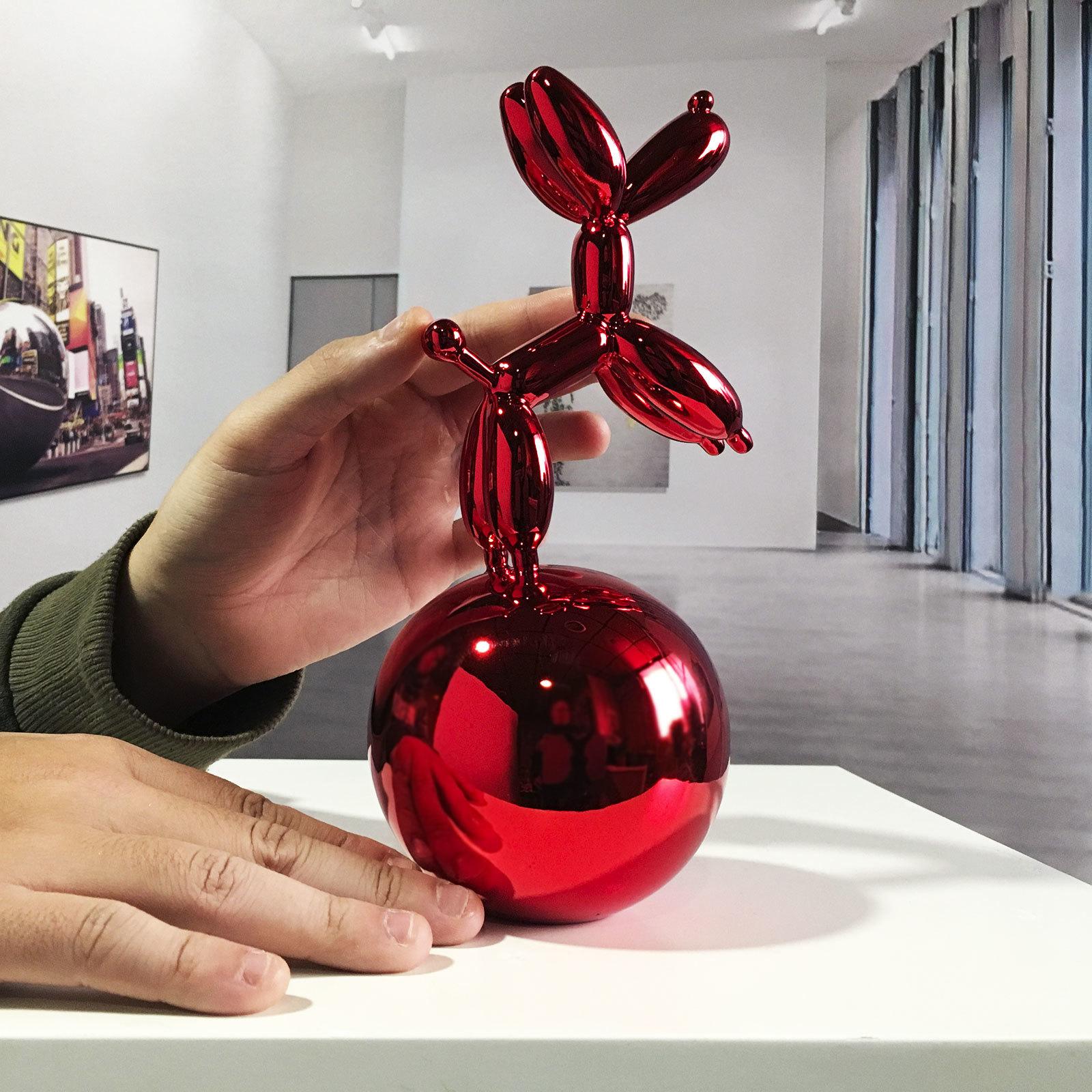 perro-globo-esfera-rojo