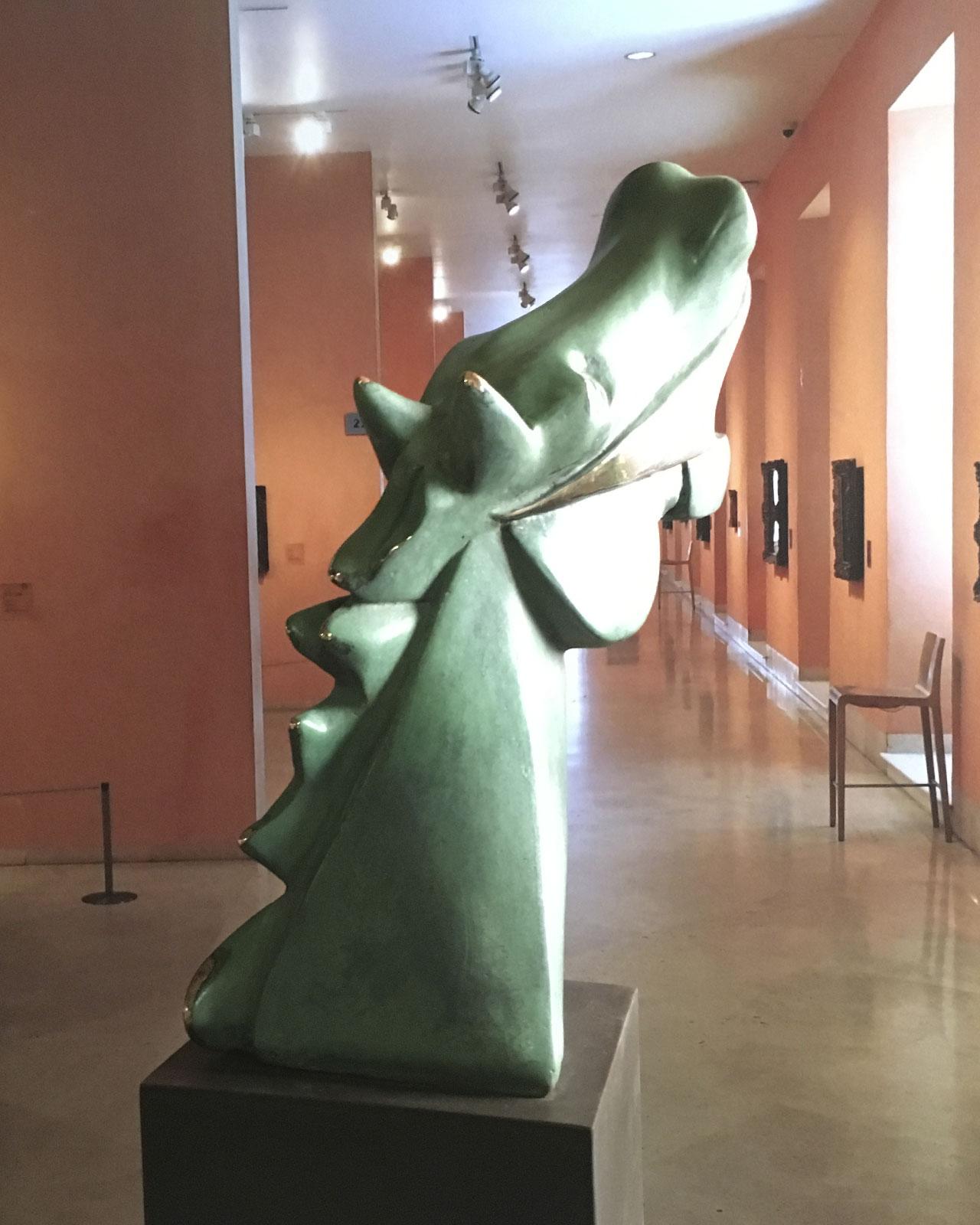 Big Cubist Horse of Guernica Casting Bronze